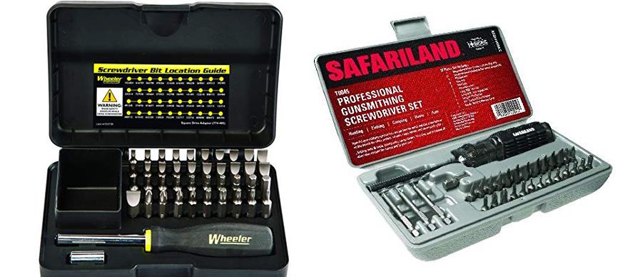 Winchester 51 Piece DAC Gunsmith Magnetic Tip Hollow Ground Screwdriver Set